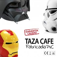 Taza Star Wars Darth Vader y Iron Man