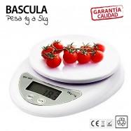 Bascula COCINA precisión de 1g a 5kg balanza peso digital