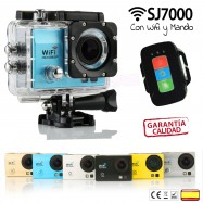 Cámara deportiva SJ7000 WIFI Y CON MANDO 1080p FULL HD