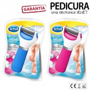 LIMA ELECTRICA SCHOLL VELVET SMOOTH diamont cristal RODILLO PEDICURA