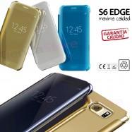 FUNDA SMART VIEW PARA GALAXY S6 EDGE