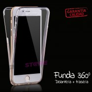 Funda carcasa TRANSPARENTE para iPhone 7 flexible silicona