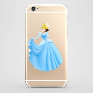 Funda iPhone 6 Cenicienta Transparente