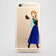 Funda iPhone 6 Anna Frozen Transparente