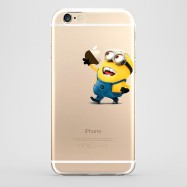 Funda iPhone 6 Dave Minion Transparente