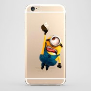 Funda iPhone 6 Stuart Minion Transparente