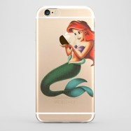Funda iPhone 6 Ariel La Sirenita Transparente