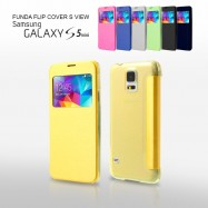 Funda Flip Cover Galaxy S5 Mini S View Ventana