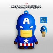 Pendrive Capitán América 8GB Memoria USB