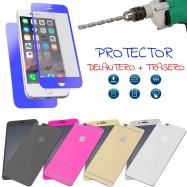Protector de Pantalla DELANTERO + TRASERO Cristal templado para IPHONE 6