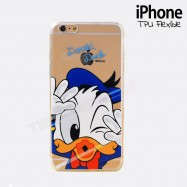 Funda iPhone 6 donald Transparente y flexible