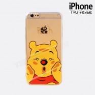 Funda iPhone 6 PLUS POOH Transparente y flexible