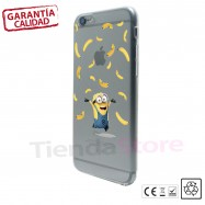 Funda iPhone 6 Minions CULOS Transparente