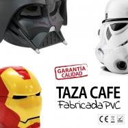 Taza Star Wars Darth Vader y Iron Man