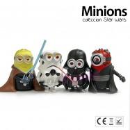 Figura Minions disfrazados de Star Wars
