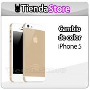 Carcasa trasera iPhone 5 CHASIS ALUMINIO DORADO