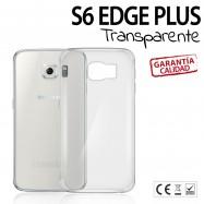 Funda Transparente Samsung S6 EDGE PLUS Silicona TPU