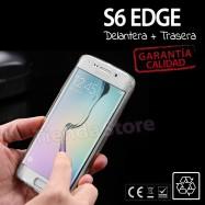 Funda Transparente Samsung S6 Edge Silicona TPU