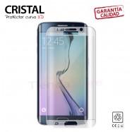 PROTECTOR PANTALLA CRISTAL 3D CURVO TEMPLADO Galaxy S6 EDGE