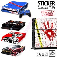 Pegatina Sticker consola PS4