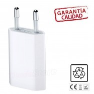 Adaptador USB de cargador para iPhone 7 / 7Plus Blanco
