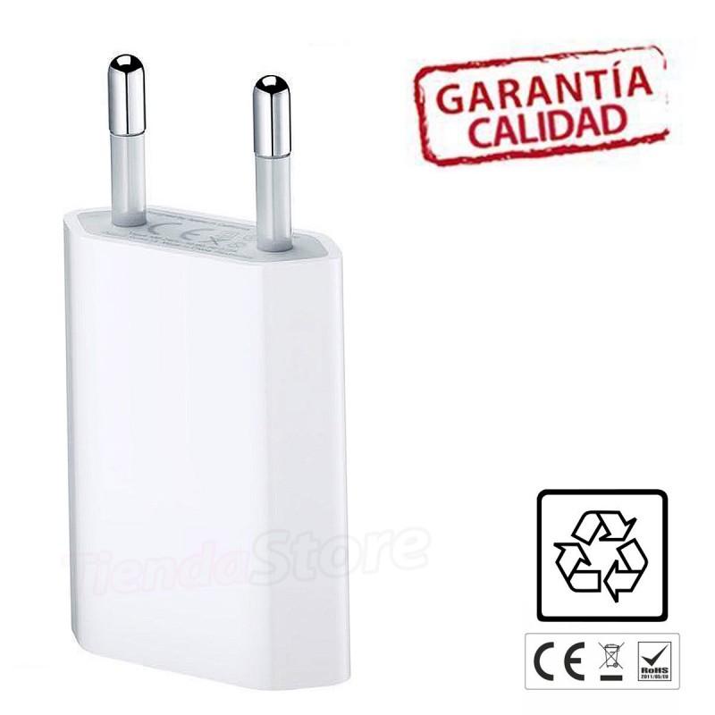 Adaptador USB de cargador para iPhone 7 / 7Plus Blanco