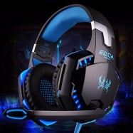 CASCOS DIADEMA GAMING KOTION EACH G2000 LUCES LED CON MICRO