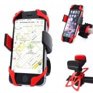 Soporte teléfono móvil para bici con gomas
