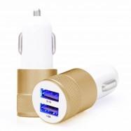 CARGADOR USB COCHE CON 2 SALIDAS