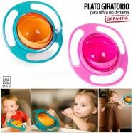 PLATO ANTI DERRAMES INFANTIL