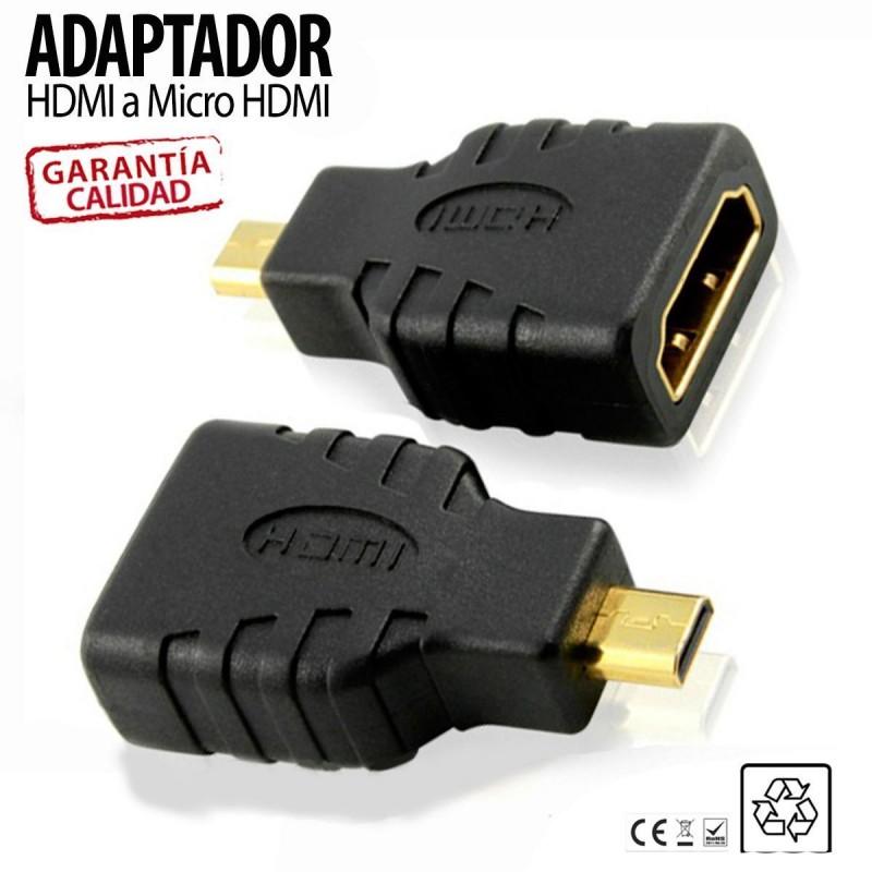 ADAPTADOR HDMI A MICRO HDMI