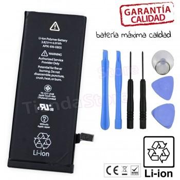 BATERÍA IPHONE 6 DE RECAMBIO + KIT DE HERRAMIENTAS