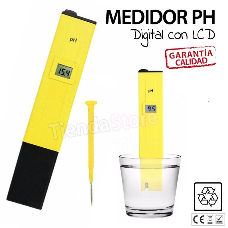 MEDIDOR DIGITAL DE PH CON PANTALLA LCD