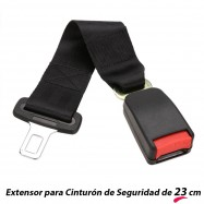 EXTENSOR DE CINTURÓN DE SEGURIDAD DE 23 CM PARA VEHÍCULOS
