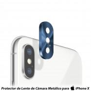 PROTECTOR METÁLICO DE OBJETIVO PARA IPHONE X