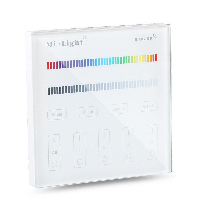 Mando controlador Wifi pared MI LIGHT T3 RGB RGBW tactil