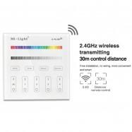 Mando controlador Wifi pared MI LIGHT T3 RGB RGBW tactil