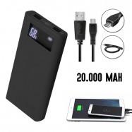 Batería externa portátil 20.000mAh
