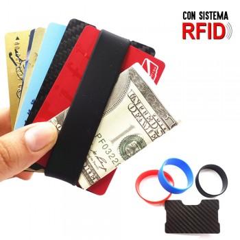 Cartera tarjetero con seguridad RFID para tarjetas de crédito