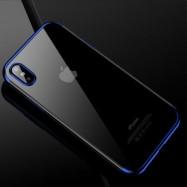 Fundas de iPhone XR Hybrid colores metalizados