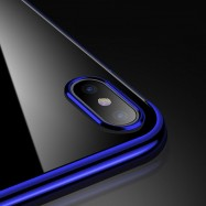 Fundas de iPhone XR Hybrid colores metalizados