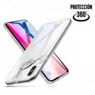 Carcasa completa transparente para iPhone XS