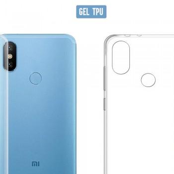 Funda de gel transparente para Xiaomi 8