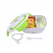 Tartera fiambrera eléctrica multifunción para transportar, calentar y conservar comida