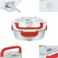 Tartera fiambrera eléctrica multifunción para coche transportar, calentar y conservar comida