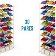 Zapatero para 30 pares de zapatos y zapatillas