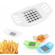 Cortador de patatas con cuchillas de acero