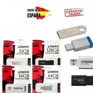 Pendrives memorias USB flash Kingston DataTraveler