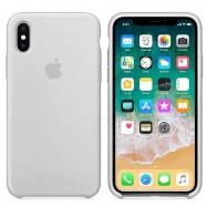 Fundas de Apple para iPhone 7 8 X XS XR con logo silicona suave
