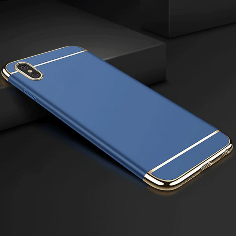 Funda carcasa triple desmontable ultrafina para iPhone X y XS